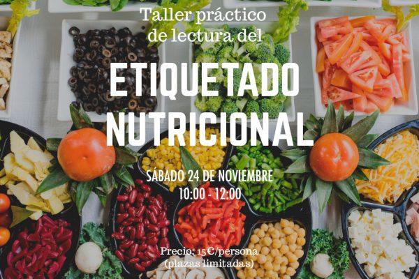 Taller de lectura de etiquetado nutricional